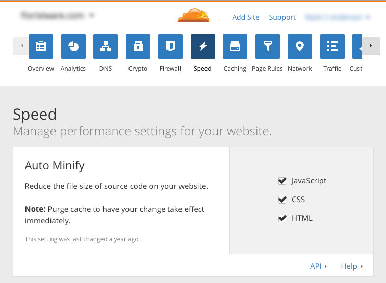 optimize-SugarCRM-cloudflare-cdn-06-minify-settings.jpg