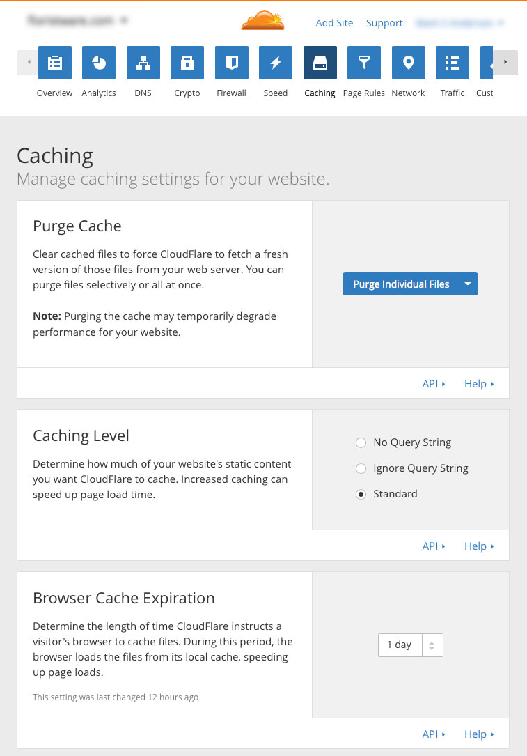 optimize-SugarCRM-cloudflare-cdn-08-caching-settings.jpg